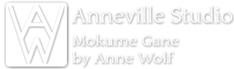 Anneville Studio :: Mokume Gane Custom Wedding Rings
