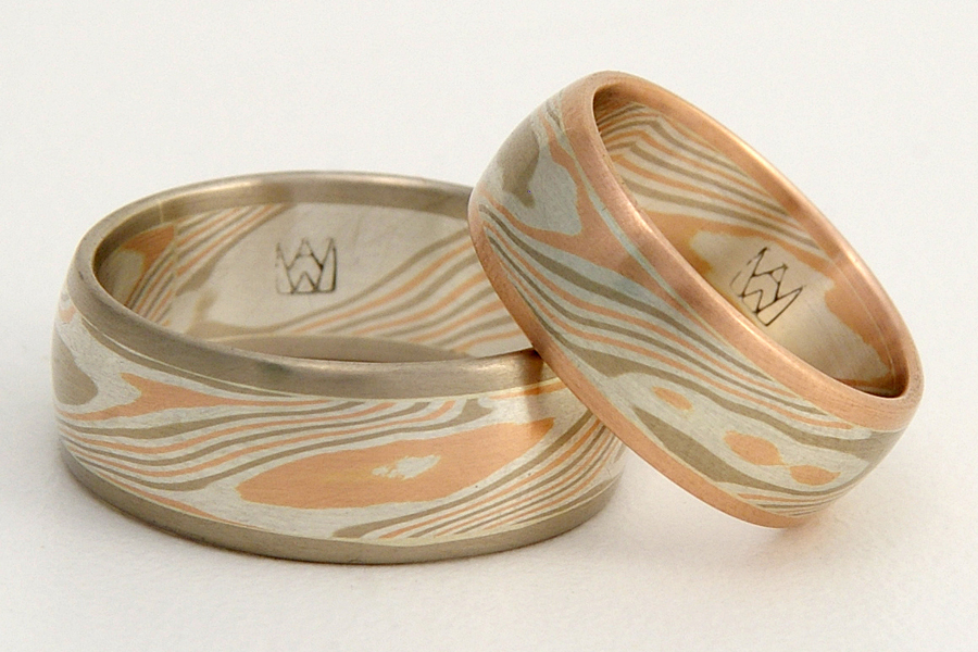 mokume orig custom wedding elemental studio rings gane anneville the