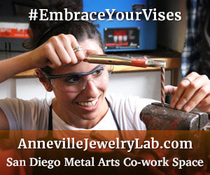 Anneville Jewelry Lab in Metalsmith Magazine!